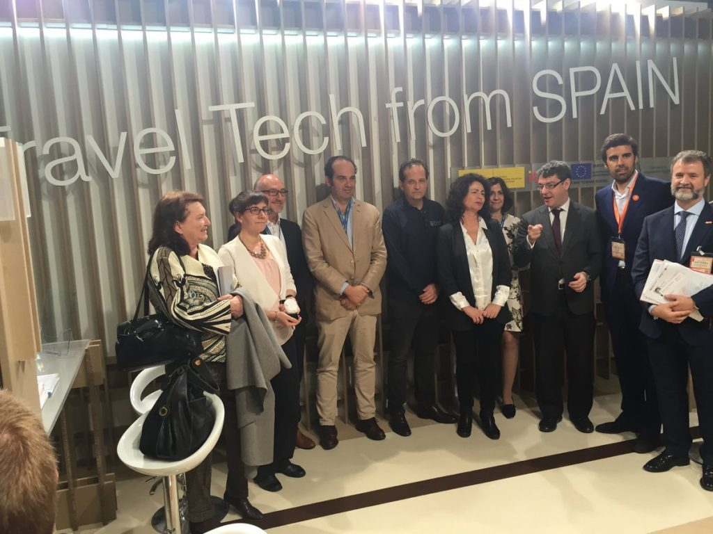 El ministro de Energía, Turismo y Agenda Digital, Alvaro Nadal, visita Travel Tech from Spain