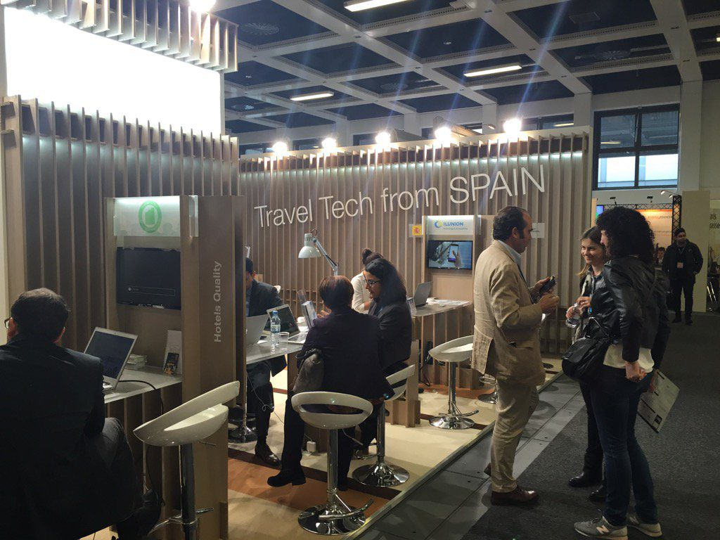 Pabellon Travel Tech from spain
