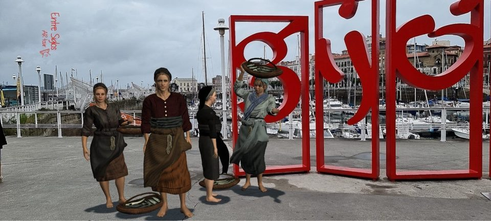 Gijón realidad aumentada
